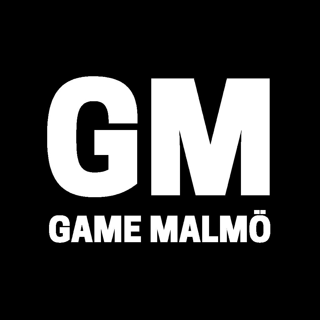 Logo We are GM - Game Malmö - @gamemalmo - gamemalmo.se