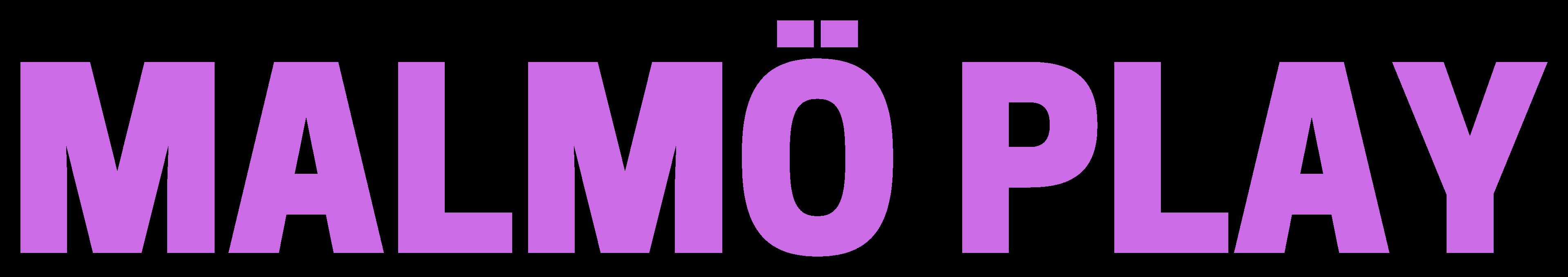 Logo Malmö Play - @malmoplay - malmoplay.se