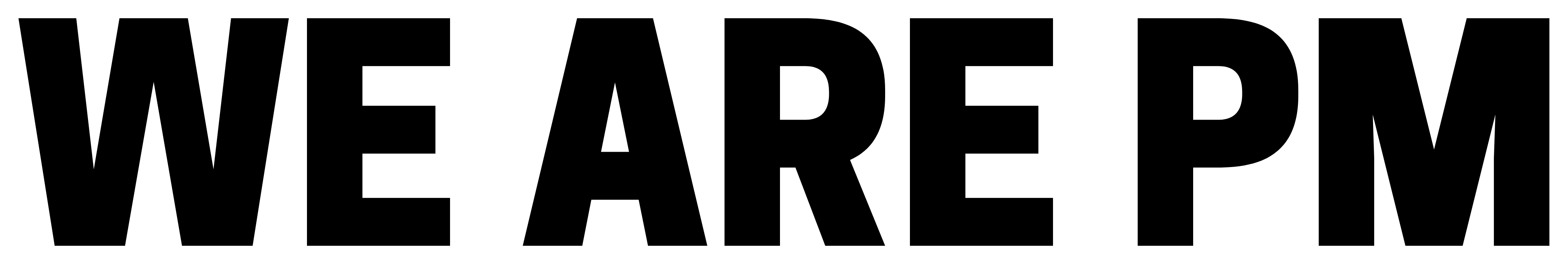 Logo We are PM - Play Malmö - @playmalmo - playmalmo.se